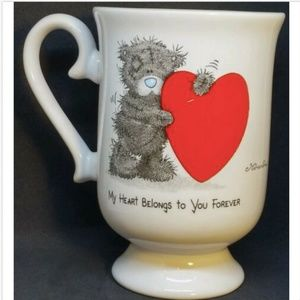 "Coffee Mug Cup Bear ""My Heart Belongs To You"